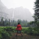 Lower Yosemite Fall Trail view