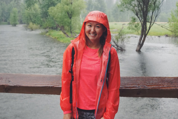 patagonia houdini rain jacket