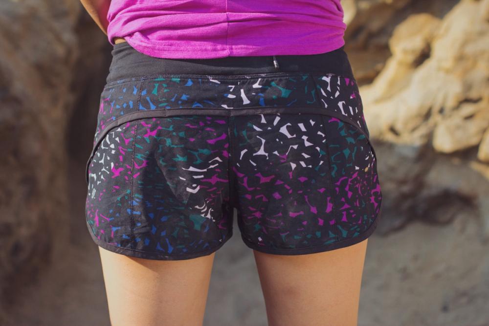 Lululemon Speed Short back view close up